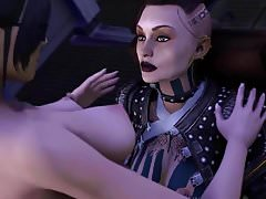Mass Effect - Miranda i Jack