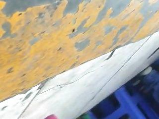 Voyeur Pussy Homemade video: upskirt thong LIMA PERU