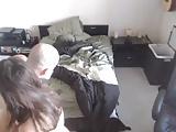 bald guy bangs petite chick 2