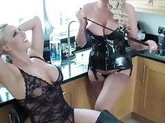 Lucy and Danielle Humiliate A Slave