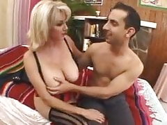Blond Milf Sucks & Gets Fucked
