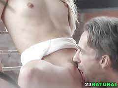 Alecia Fox and her big cocked lover