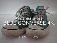 Scarpe della sorella: Blu Converse (sporco) 4K