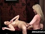 Penthouse Pet Jelena Jensen Tickles Trisha Uptown To Tears!