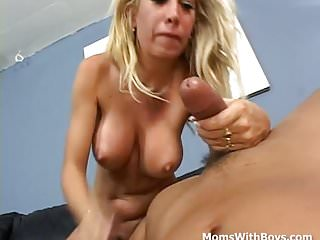 .Mature Cock Sucking Slut Couch Fucked.