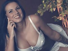 Sexy Girl am Telefon Dirty Talk German Girl