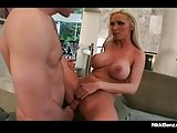 Penthouse Pet Nikki Benz Is Pounded By Her Plumber's Pipe!