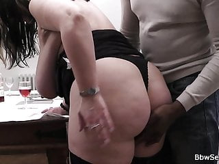 Bbw Tits Czech video: Black man loves her huge melons and fat pussy
