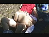 Dogging wife part1