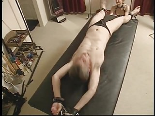 Bondage Retro Homemade video: Tickle Torture