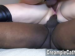 Massive Anal Creampie For Milf