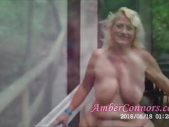 Nudist Camp Granny Squirting y Pussy Farts