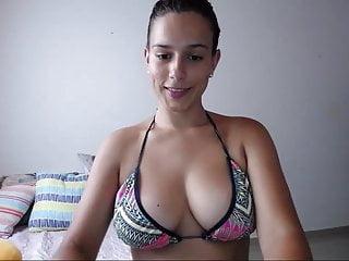 Big Tits Big Ass Bikini video: xxprincesslatinaxx outdoor