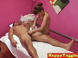 Oriental masseuse seduces older man