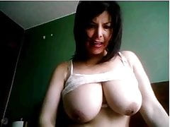 Big tits MILF part 1 no sound webcam