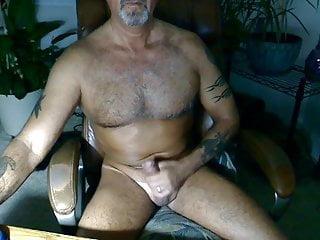 Orgasm Dad Hd Videos vid: Tattoo Daddy mature masturbation at home