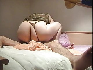 Bbw French Big Cock video: my gf big butt ride my cock