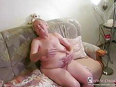 OmaGeiL, fast hundert Jahre alte Oma nackt