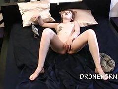 Czeska nastolatka Oglądanie porno i Masturbacja