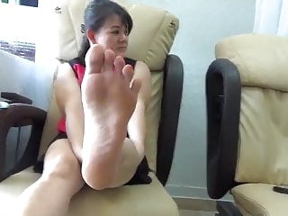 Real asian feet...