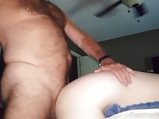 Hot hairy dad multiple dumps in boy