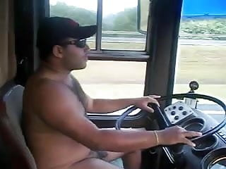 Sexy bear truck driver naked...