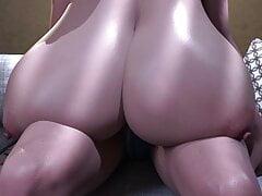 Big Breasts Grow Bigger! Olivia's Breast Expansion