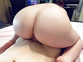 Hotwife Kira Secret Rides a Random Boy's Cock