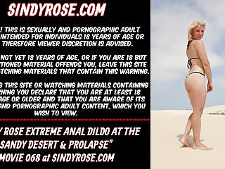 Sindy rose the sandy desert...
