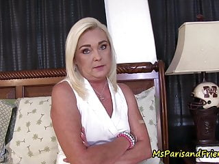Old mom-Son and His Panty Fetish