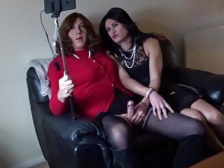 Amateur Shemale Stockings Shemale Couple Shemale video: Behind the scenes - Alison and Zara live stream on YouTube