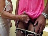 wife wanks me in my pink slip