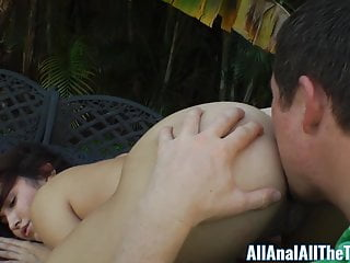 Hot Latina Stella May Gets Ass Eaten Outside for AllAnal!