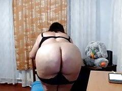 Model Milaya does webcam show