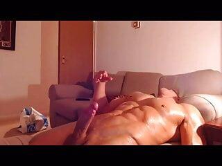 British Muscle Hunk Cums