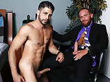 Steven Ponce takes a huge cock