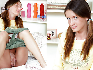 Deluxe skinny teen trouble fuck with close holes 9