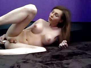 Perfect tranny ts nipples cumming...