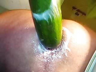 Big 6,5cm veggie on My Loose ass