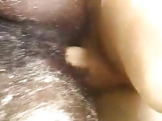 African Bitch is fucked within the seashore