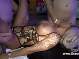 German perfect teen gangbang with many old men