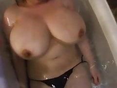 Ms P's amazing huge tits