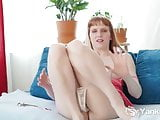 Sexy Daphne Toying Her Ass