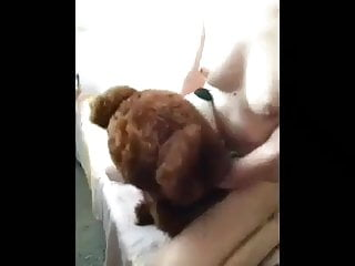 Teen pillow grinding