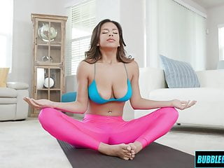 Yoga Babe With Great Tits