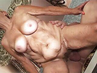 busty 89 year old grandma needs rough sex