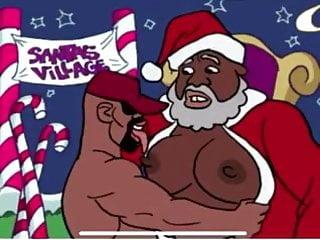 Black Santa Animation