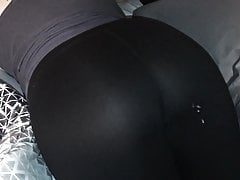 Cum on Ass, Tight Leggings 03