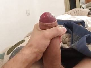 Cock squirts big load...