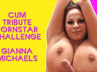 The cum tribute pornstar challenge starring...